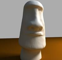 moai statue easter island max