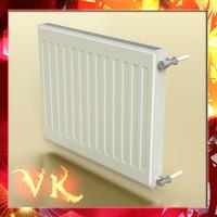 3dsmax radiator scanline