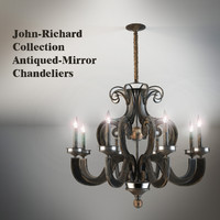 John-Richard Collection Eight-Light Chandelier