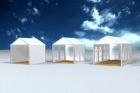 pagoda tent 3x3m max