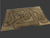 3ds rc car race track