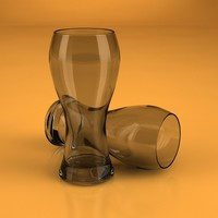 beer glass 3d c4d