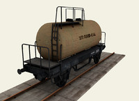 Railroad tanker wagon