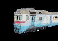 3d model diesel train