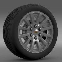 Chevrolet Tahoe Hybrid 2012 wheel