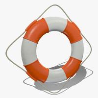 3dsmax life buoy lifebuoys