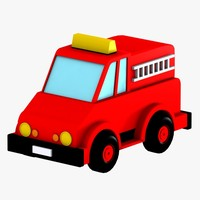 toy truck 3d max