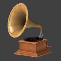 3d gramophone