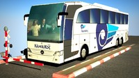 3d mercedes-benz travego shd model