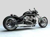 3ds max sport motorcycle
