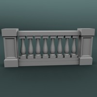 balustrade architectural max