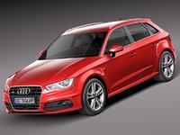 Audi A3 5-door S-line 2014