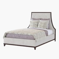 Baker LYRIC TUFTED QUEEN BED 3624Q-1