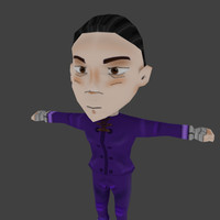 3d model chinese chibi character