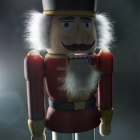 nutcracker walnut c4d