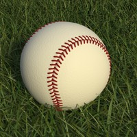 Baseball High Poly