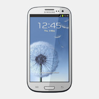 3d samsung i9300 galaxy s model