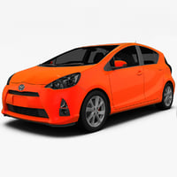 3d 3ds 2012 toyota prius c