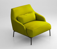 lima tacchini armchair 3d max