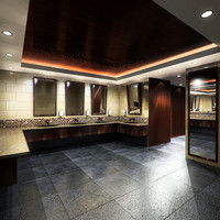 3ds bathroom washroom