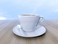 ordinary coffee cup 3d model