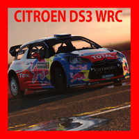 citroen ds3 2012 wrc rally 3d max