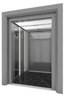 dual door elevator 3d model