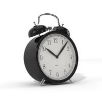 3d realistic alarm clock ikea