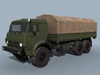 dxf kamaz-53501 truck cargo kamaz