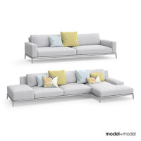 poliform park sofa 3d model