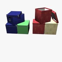 design boxes 01 3d model