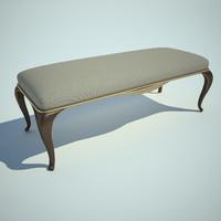 stove bench v 3d model