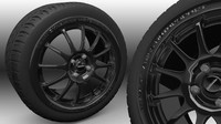 Team Dynamics pro 1.2 Alloy Wheel and tyre