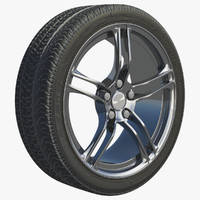 wheel rim obj