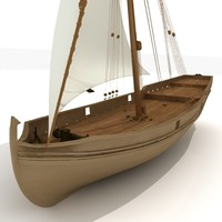 Wooden Sailboat