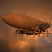 Steampunk Zeppelin V2