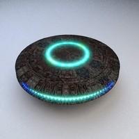 3d model of ufo jump