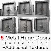 Metal Huge Door Textured Collection