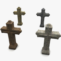 TombStone Crosses Textured Collection