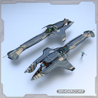 fast cruiser 3d model