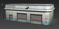 3d model of garage