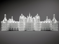 3d chateau castle