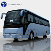 3d temsa safari bus games