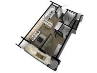 3D Floor Plan Doll House View 03