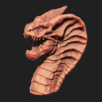 Dragon Head 3D Print