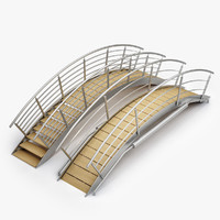 3d model swimming pool bridges