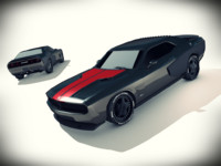 Dodge challenger SRT8 - modified