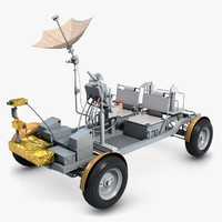 Lunar Rover Apollo 15