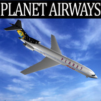 Planet Airways 727-200