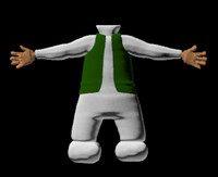 body character 3d model